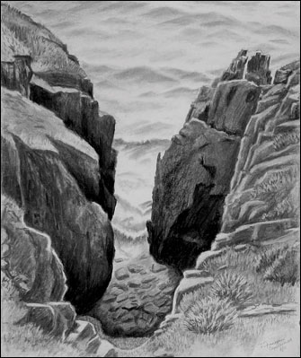 Cape Cornwall Cleft